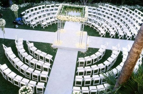 two-aisles-wedding-ceremony