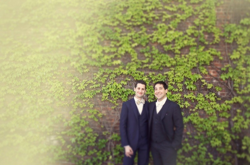 Image for Abe and Frank's Urban Garden Party Wedding