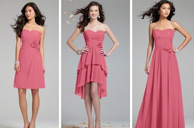 Image for Bridesmaid Dress Guide: One Color, Many Styles