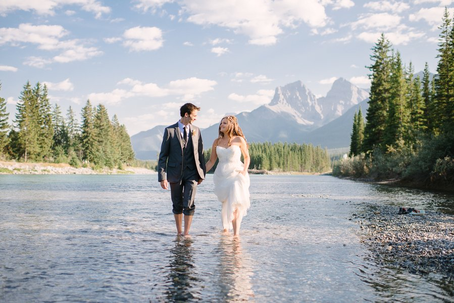 Kayle And Dusty's Homemade Charming Canadian Wedding
