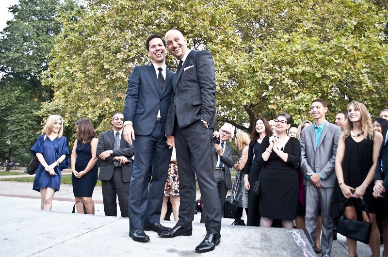 Image for Jeff and Alberto's Fort Greene Park Wedding
