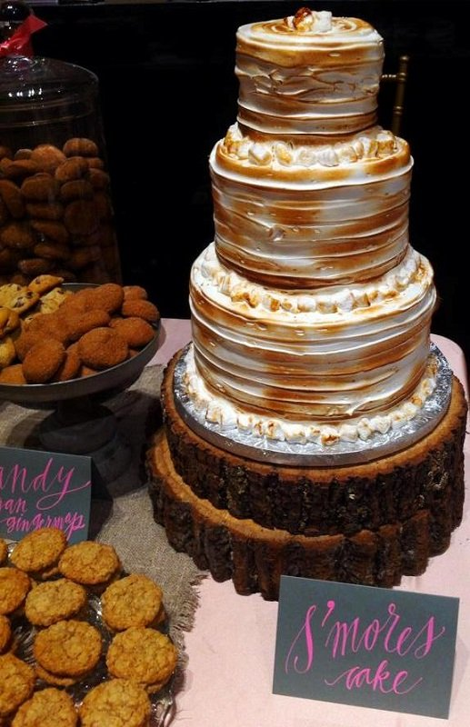 Trend Alert! S'mores Wedding Cakes Are A Thing