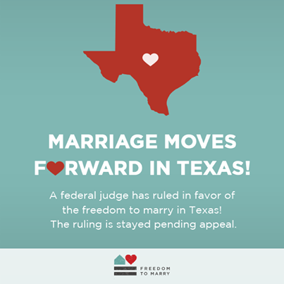 texas ban same sex marriage unconstitutional in Gladstone