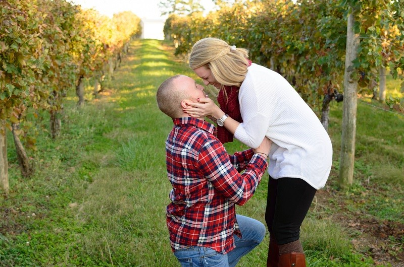 Image for Nick and Laura's Vineyard Proposal