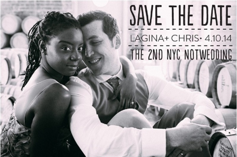 Image for GIVEAWAY: Win a Pair of Tickets to the 2nd NYC NotWedding!