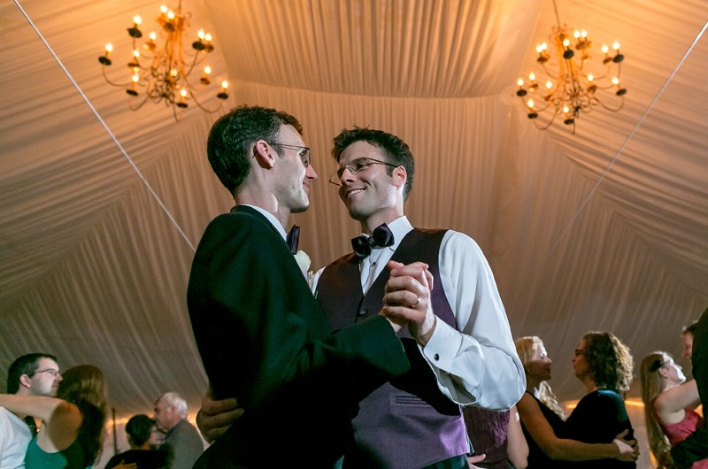 Image for Matt and Brian's Rustic Fall Massachusetts Wedding