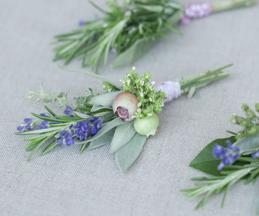 herb-boutonnieres