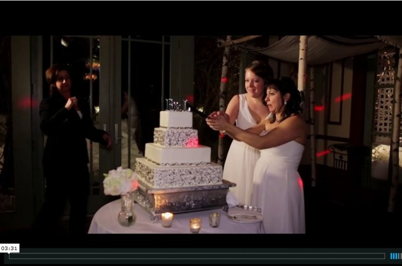 Image for Leah and Becca's Round Hill House Wedding Video