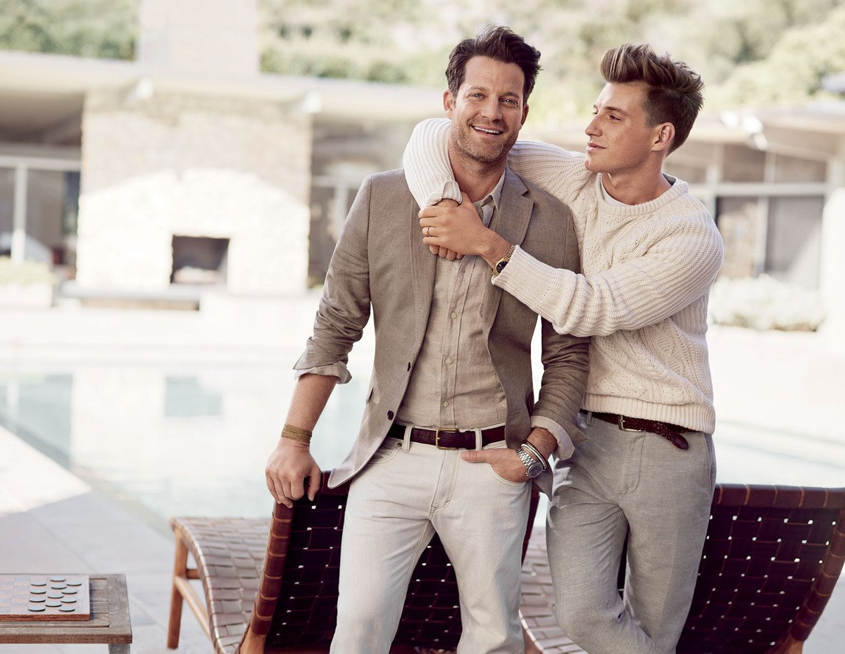 nate berkus and jeremiah brent are married love inc. Black Bedroom Furniture Sets. Home Design Ideas