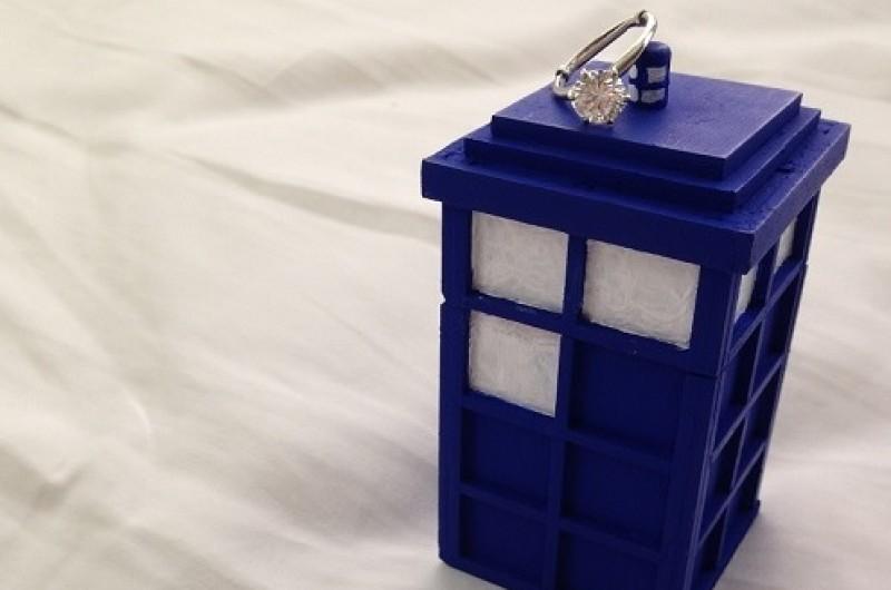 Image for My Doctor Who Beach Proposal Story