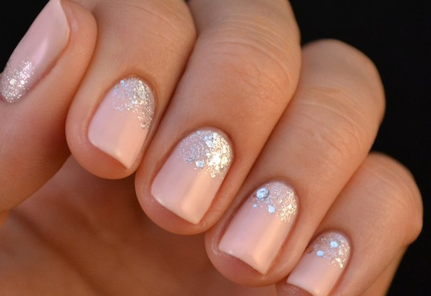glitter-nails-wedding