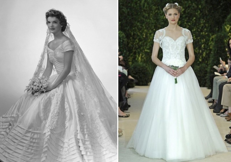 Admirable 5 Modern Day Wedding Dresses Inspired By 20Th Century Icons Love Short Hairstyles For Black Women Fulllsitofus