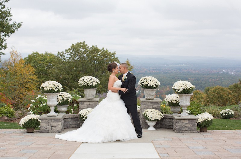 Image for Chris and Michelle's Chic Northeast Fall Wedding