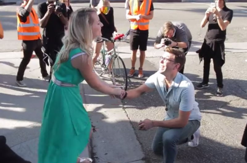 Image for Daniel and Julia's Insanely Adorable Los Angeles Proposal Video
