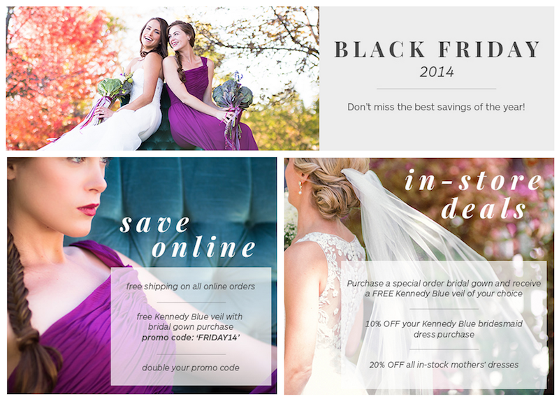 Black friday deals to nab for wedding planning discounts for Black friday wedding dress