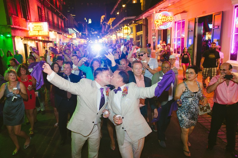 Image for Chris and Cliff's Festive New Orleans Wedding