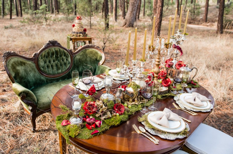 Image for Holiday Wedding Inspiration: Gilded Baroque