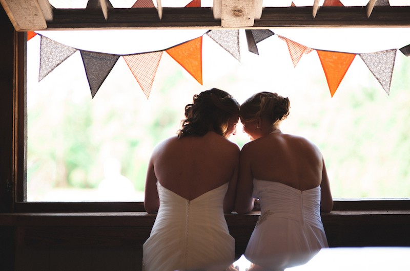 Image for Jennifer and Caroline's Rustic Wedding Fiesta