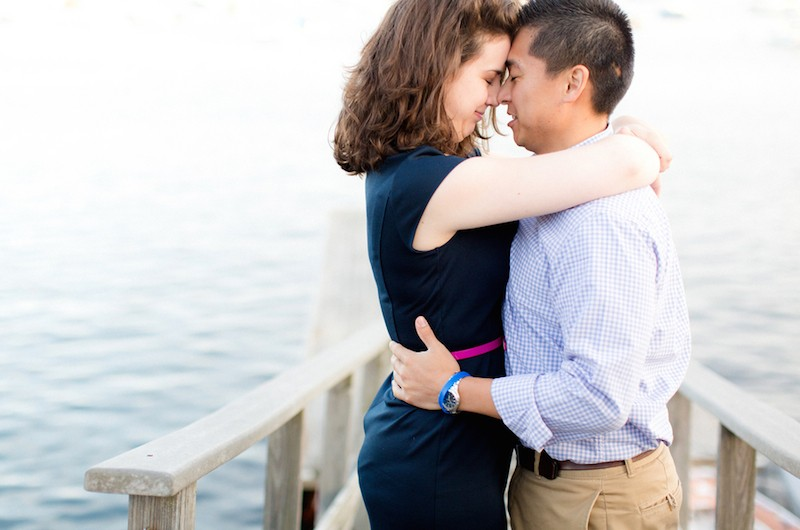 Image for Sarah and Mikio's Oceanside Engagement Session