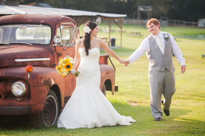 Image for Casey and Derrick's Classic Country Wedding at The Cotton Gin