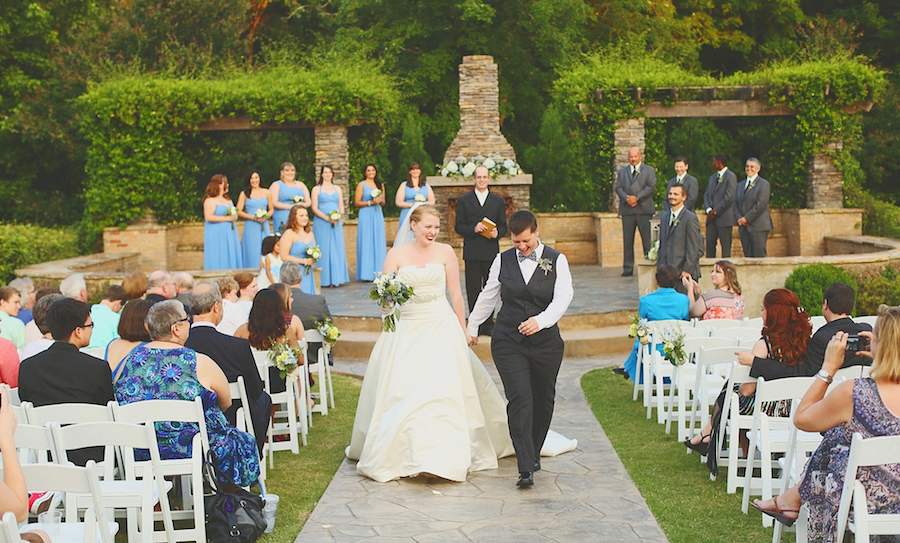 Lgbt friendly wedding venues in alabama that scream style love inc top left junglespirit Images