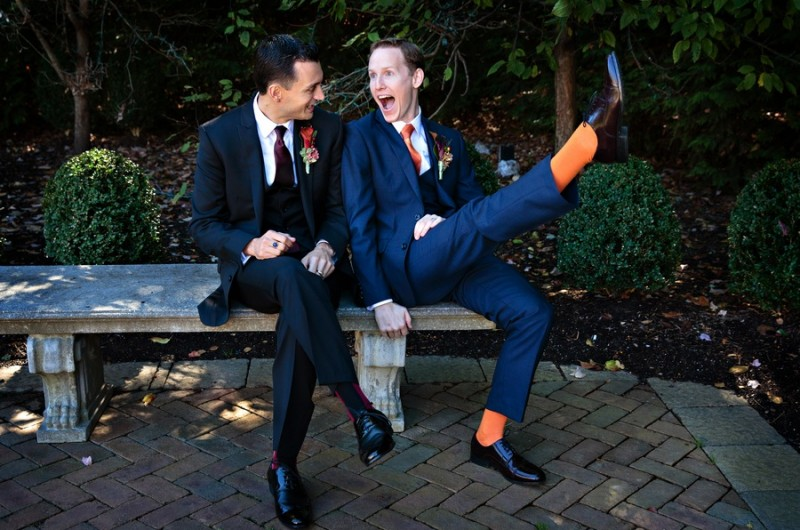 Image for Bradley and Trevor's Charismatic New Jersey Wedding