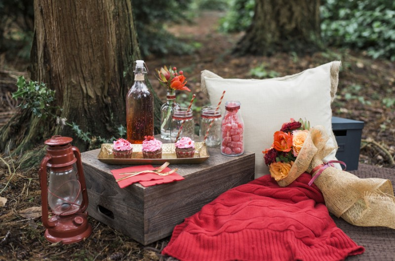 Image for Inspiration: A Monochromatic Valentine's Day Picnic