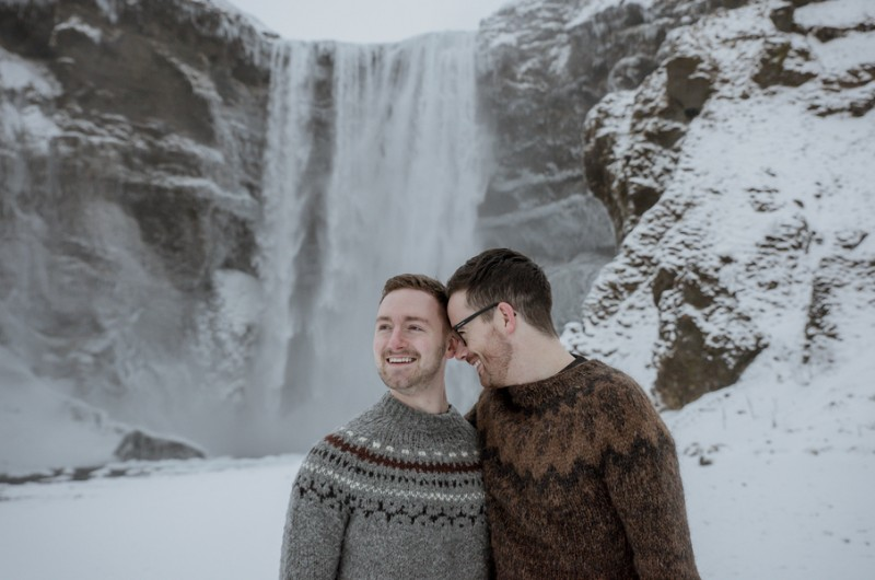 Image for Paul and Marc's Magical Iceland Engagement Shoot