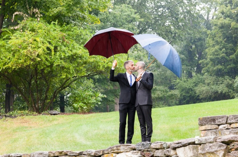 Image for Sean and Bernhard's Multicultural Barn Wedding
