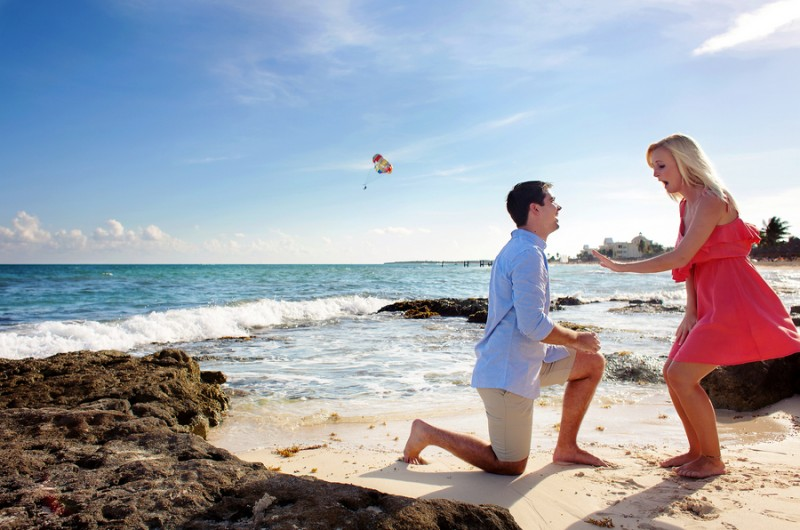 Image for Meagen and Ryan's Romantic Mexico Destination Proposal