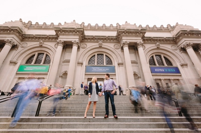 Image for Meredith and Clay's New York City Engagement Shoot by Jodee Debes Photography