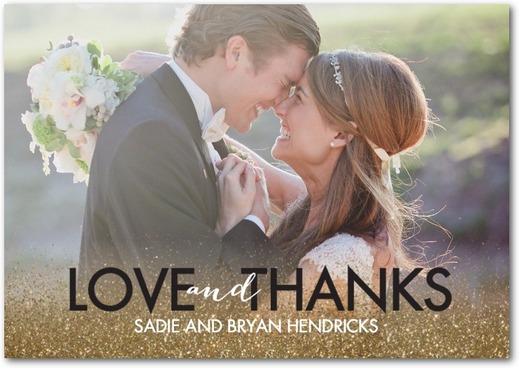Deal of the Day 50 Off Thank You Notes Love Inc MagLove Inc Mag – Wedding Paper Divas Thank You Cards