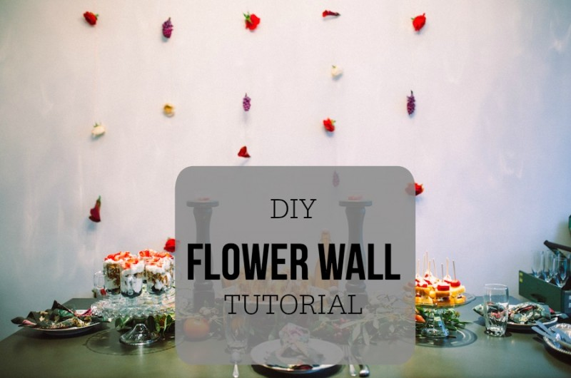 Image for Simple and Chic DIY Flower Wall Tutorial