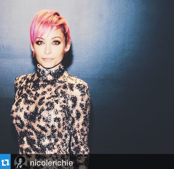 nicole-ritchie-pink-hair