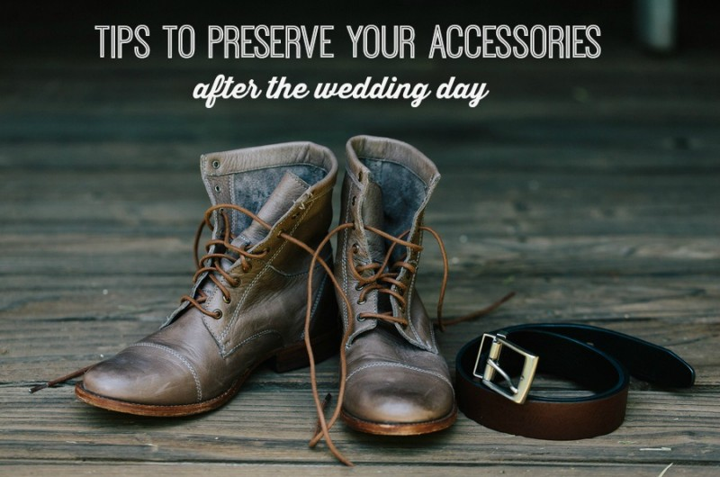 Image for How to Preserve Your Accessories Well Past the Wedding Day