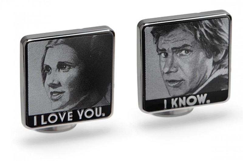 Image for 6 Nerdy Cufflinks for Wearing Your Fandom on Your Sleeve