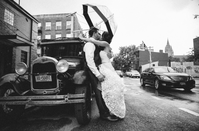 Image for Heather and Brian's Speakeasy-Style Industrial Wedding
