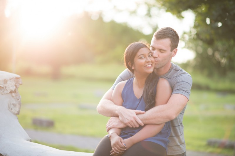 Image for Melayna and Dan's Playful Ontario Engagement Shoot