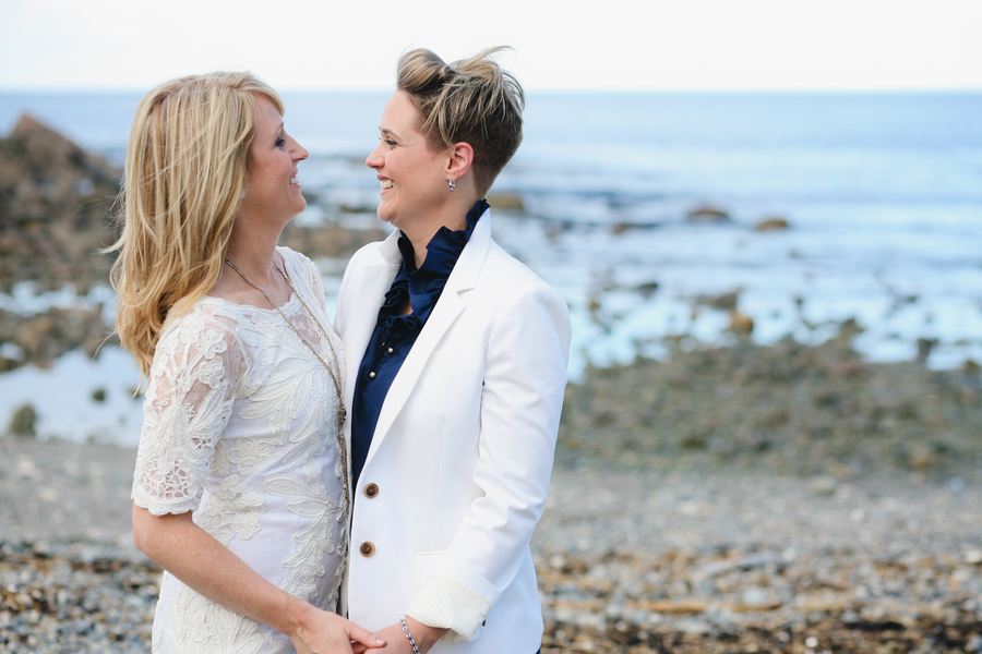 Amy and Erin Coffehouse Wedding Photography by Brett Alison