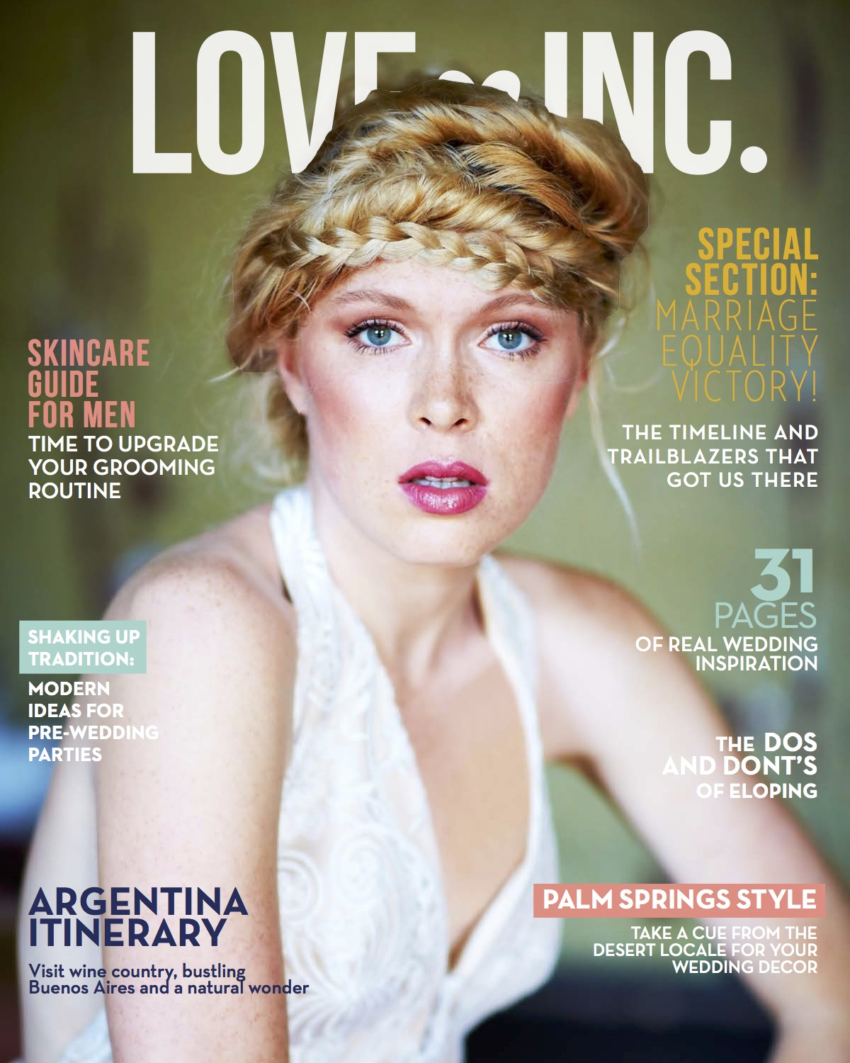 LoveInc_IssueFour Cover