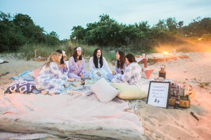 Image for Magical Movie on the Beach Bachelorette Party Inspiration