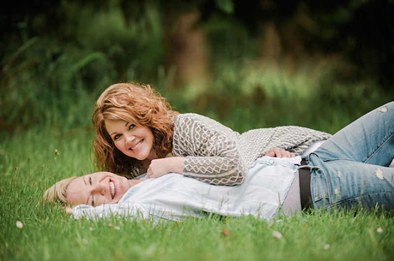 Image for Hollye and Andrea's Sweet Washington Park Engagement Session