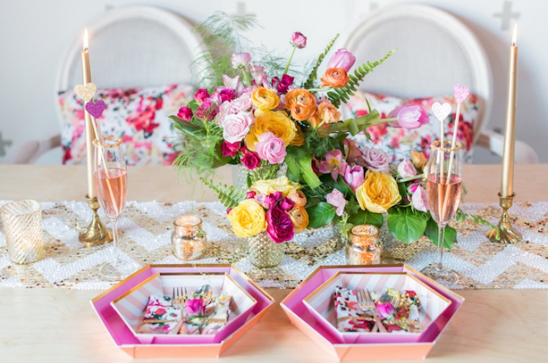Image for Bright & Bold: A Colorful Pink and Orange Wedding Inspiration Shoot