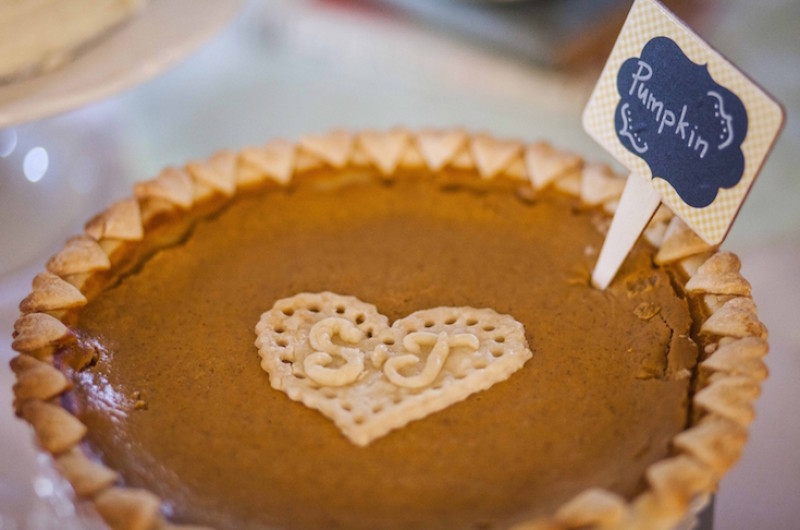 Image for 11 Displays for a Slice of Pi Day Wedding Inspiration