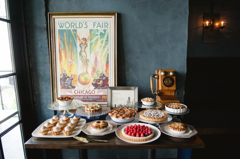 Image for A Masculine Chicago World's Fair-Inspired Styled Shoot