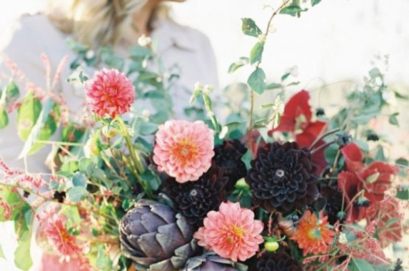 Image for Dreaming of Dahlias: The Best Bouquets & Boutonnieres to Pin for Your Fall Wedding