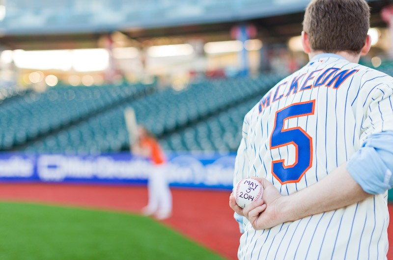 Image for Mets vs. Royals: An Engagement Shoot Showdown