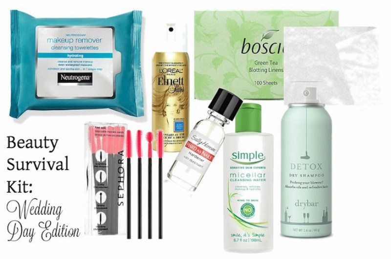 Image for Beauty Products You Need for Wedding Day Survival