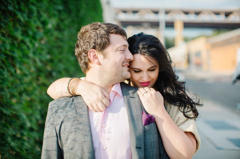 Image for Brittny and Eric's Light-Filled Long Island City Engagement Shoot