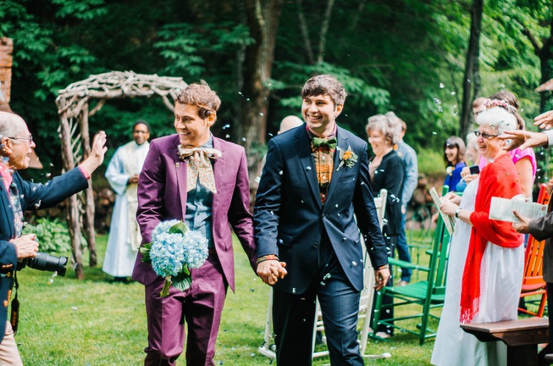 Image for Eric and Danny's Mountain Vows at Mast Farm Inn